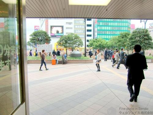 仙台駅西口出口